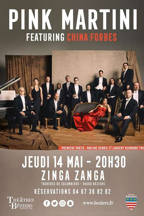 CONCERT : PINK MARTINI FEATURING CHINA FORBES