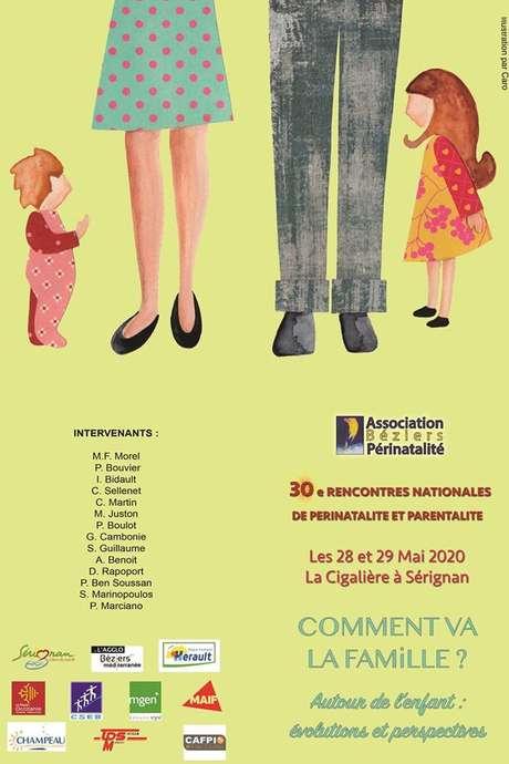 """ANNULÉ - CONGRÉS DE PÉRINATALITÉ """"COMMENT VA LA FAMILLE ?"""""""
