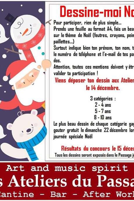 CONCOURS DE DESSIN: DESSINE MOI NOEL