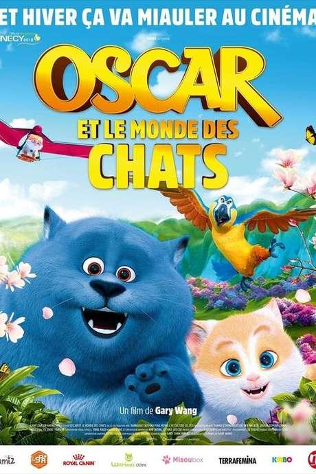 """CINEMA ENFANT """"OSCAR ET LE MONDE DES CHATS"""""""