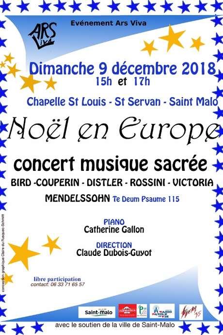 Concert Ars Viva - Noël en Europe