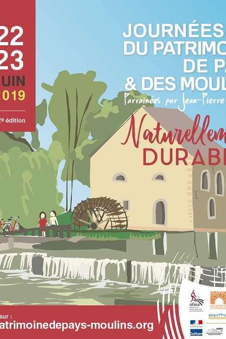 Journées du Patrimoine de Pays et des Moulins : Visite du moulin à marée de Boschet
