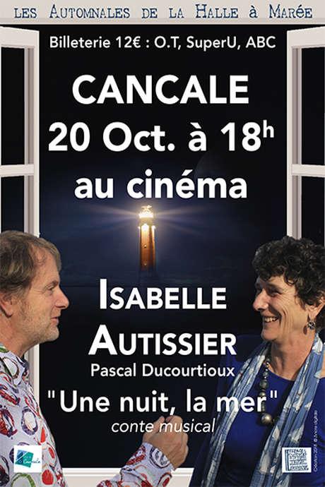 """Isabelle Autissier, Conte musical """"Une nuit, la mer"""""""