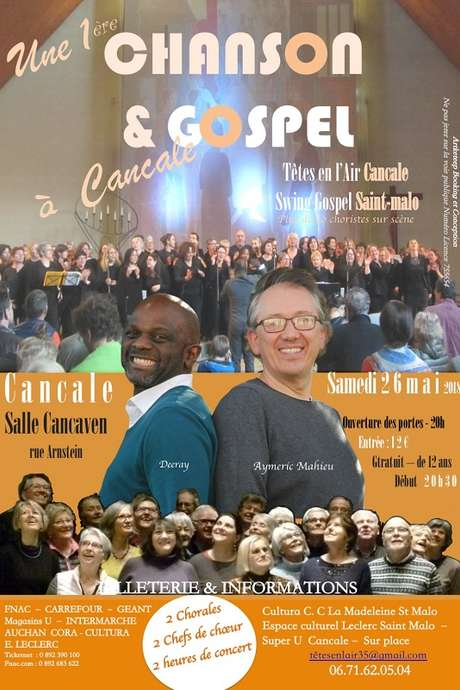"Spectacle musical ""Chanson & Gospel"""