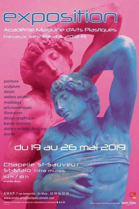 Exposition de l'Académie Malouine d'Arts Plastiques