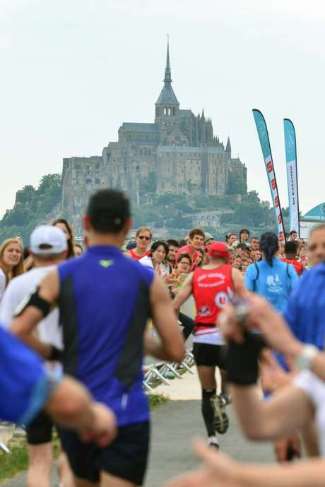 Run In Mont-Saint-Michel : Le marathon