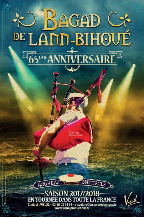 """Spectacle """"65ème anniversaire du Bagad de Lann Bihoué"""""""