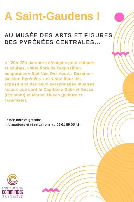 LA NUIT EUROPEENNE DES MUSEES : MUSÉE DES ARTS ET FIGURES DES PYRÉNÉES CENTRALES