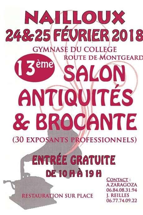 13ÈME SALON ANTIQUITÉS & BROCANTE