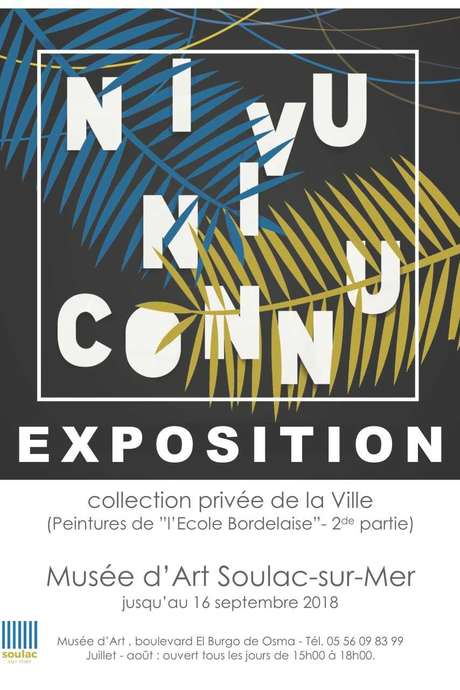 "Exposition ""Ni Vu, Ni Connu"""
