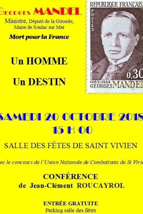 Conférence Georges Mandel