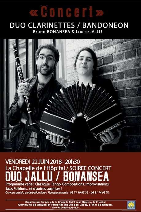 Concert en duo de Bruno Bonansea