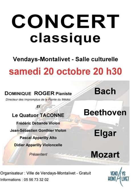 """Concert """" Les Impromptus de la Pointe du Médoc"""""""
