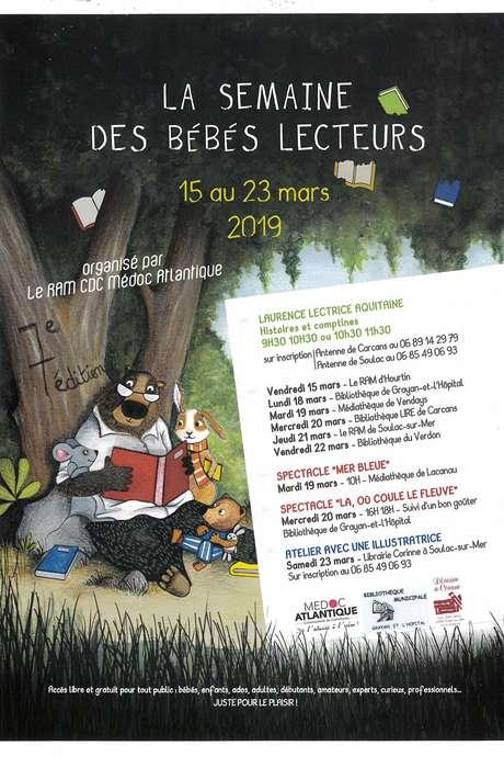 """Semaine des bébés lecteurs """"Histoires et comptines"""" - Copie"""