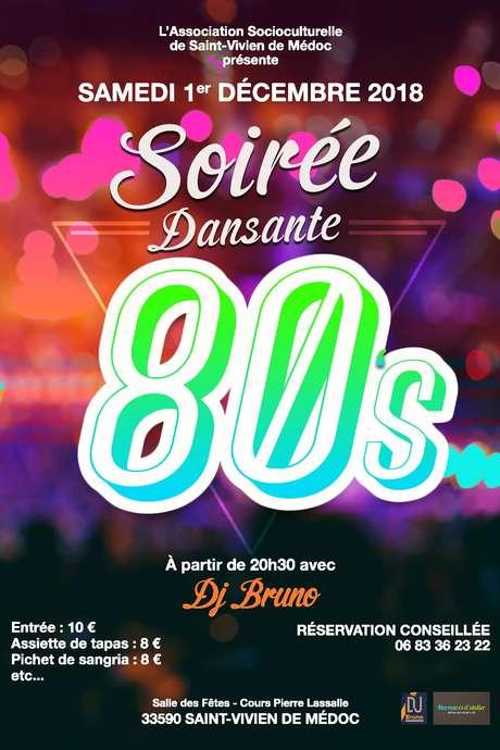 Soirée Dansante Années 80