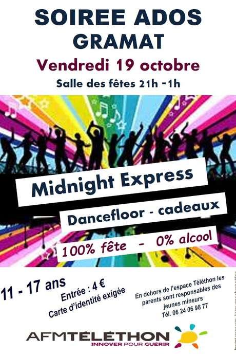 Soirée Ados avec Midnight Express
