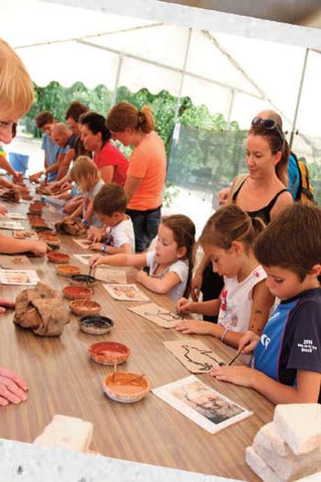 Ateliers Créatifs pour Enfants- Archéosite des Fieux