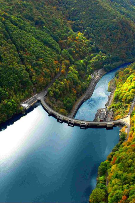 Visite du Barrage du Chastang