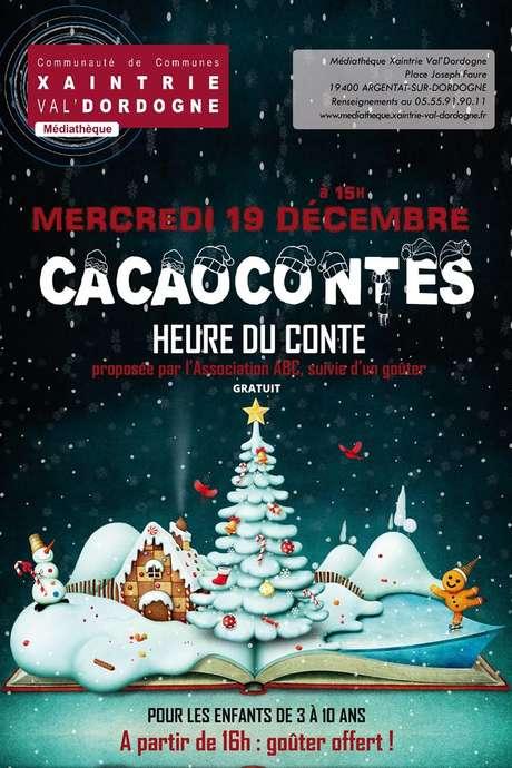 """L'Heure du Conte """"Cacaocontes"""""""