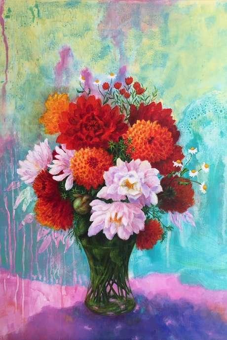 """Exposition de Peinture : """"Voici des Fleurs, des Fruits"""""""
