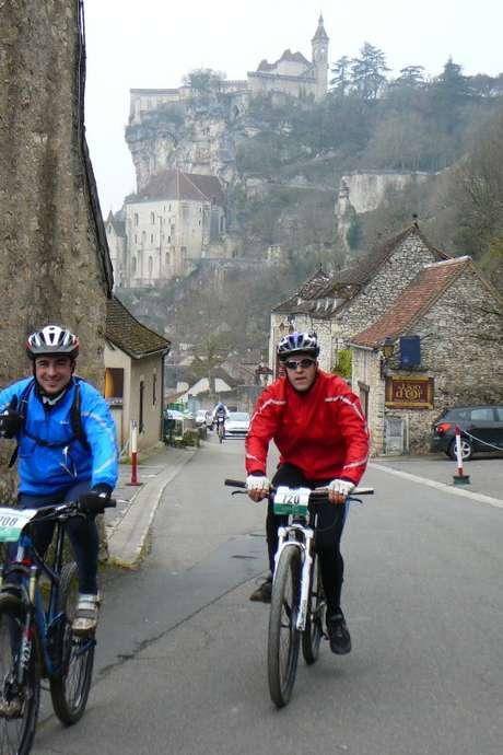 Brive-Rocamadour VTT + Les Sentiers de Rocamadour (Randonnée pédestre)