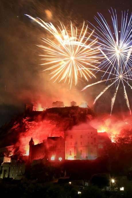 Feu d'Artifice Embrasement de la Cité de Rocamadour