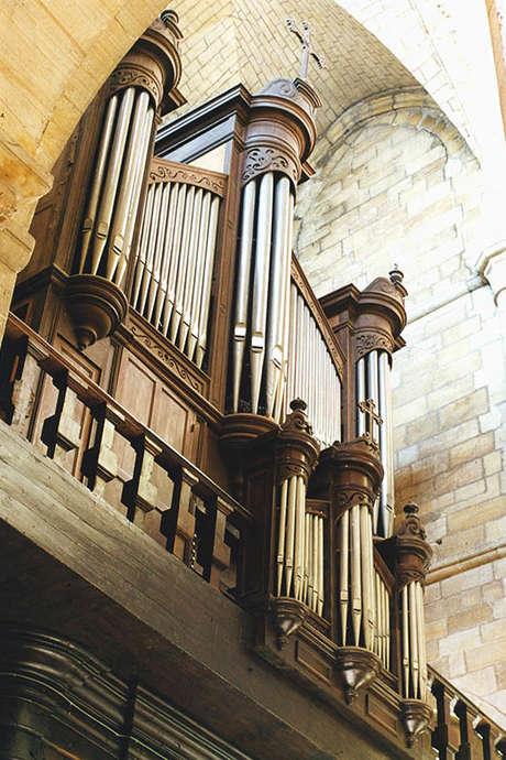 Concert des Amis des Orgues à l'abbatiale Saint-Sauveur