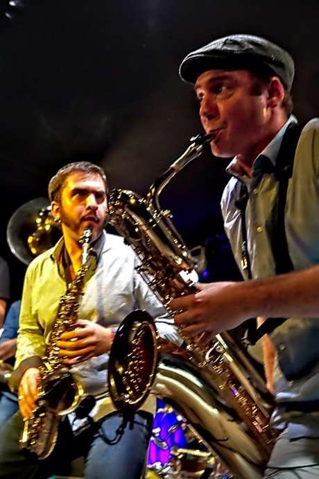 Repas des producteurs animé par Filibusters et Les Tire-bouchons  - Souillac en Jazz