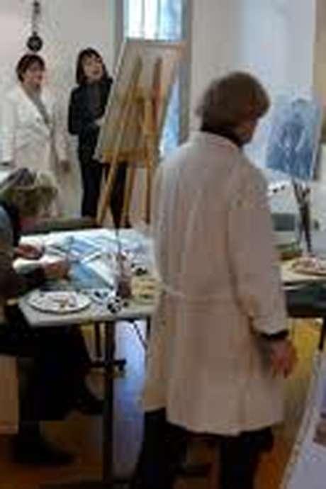 Exposition des Peintures des élèves de Françoise Utrel