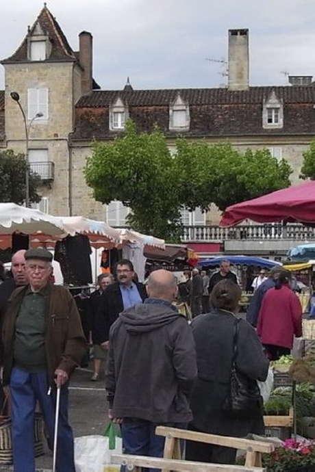 Marché à Saint-Céré