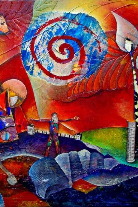 """Exposition """"Peintures et Sculptures en Liberté"""" par Marie Bazin et Delphine Gournay"""