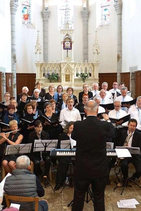 Concert du Choeur de Figeac au Château de Larroque-Toirac