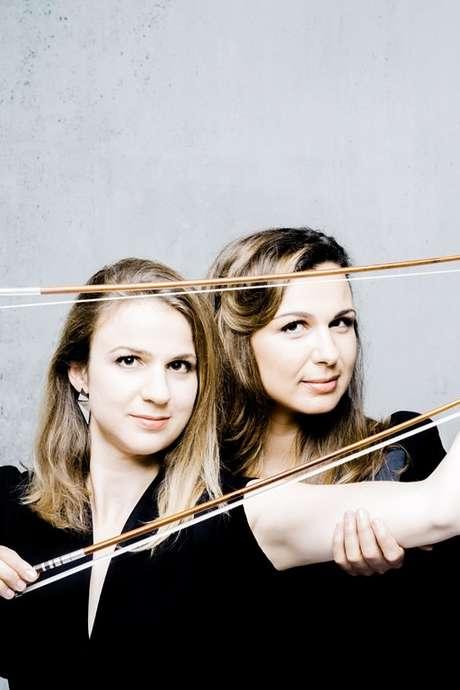 Sarah et Déborah Nemtanu -  Les Musicales du Causse