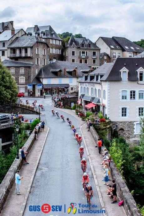 Arrivée de la 3ème Etape du Tour du Limousin 2019