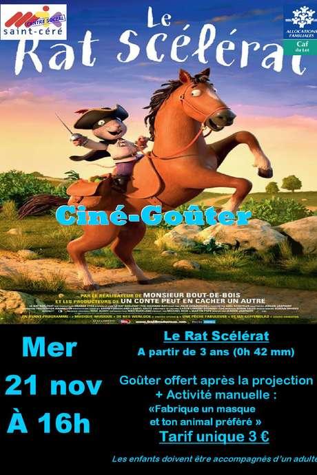 """Ciné Goûter """"Le Rat Scélérat"""""""