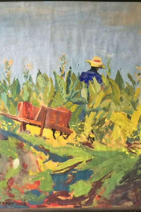 Exposition des peintures de Jeanne Lods - Moussinac