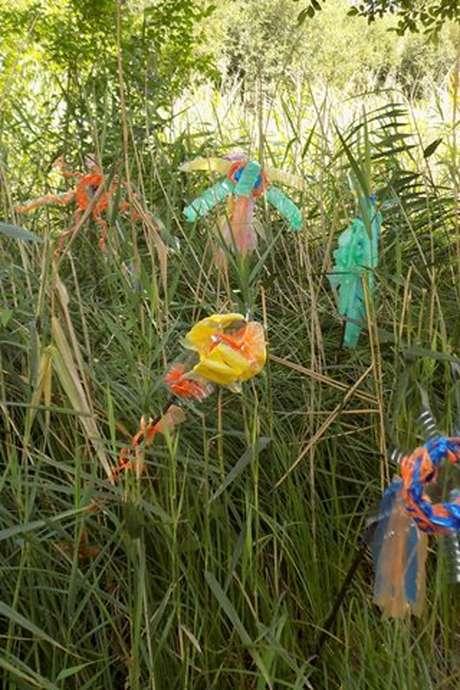 """Ateliers Buissonniers """"Land Art et Mandalas"""" au Marais de Bonnefont"""