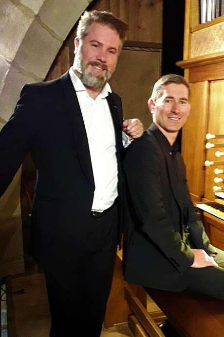 Orgue et voix : Laurent Jochum (orgue) et  Philippe Brocard (Baryton)-  Les Musicales du Causse