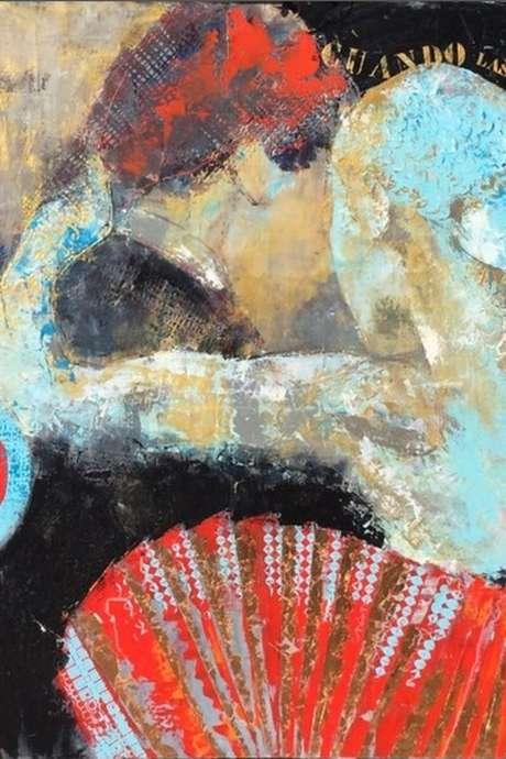 Exposition de Martine Cassé - Peinture