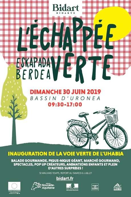 L'Échappée Verte - Inauguration de la voie verte