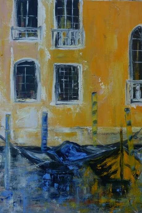 Exposition de peinture de Claudine Fasan