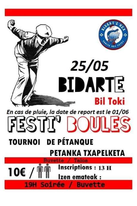 FESTIBOULES - Tournoi de pétanque