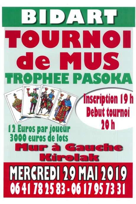 Tournoi de mus - Trophée Pasoka