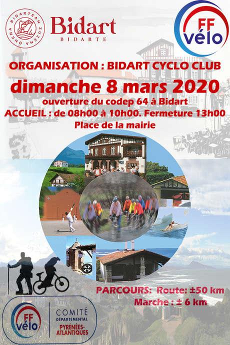 Ouverture de la saison vélo - Codep64