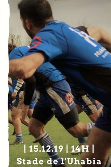 Match de rugby - BUC contre SA Monein