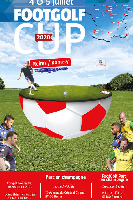 Footgolf Cup au FOOTGOLF PARC EN CHAMPAGNE