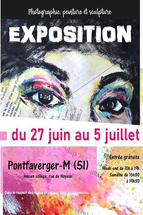 Exposition photographie, peinture & sculpture