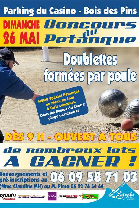PÉTANQUE : QUALIFICATION DÉPARTEMENTALE EN T A T
