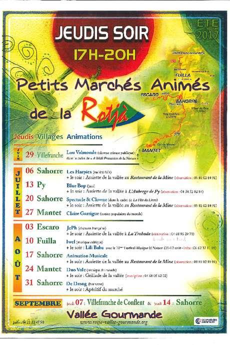 PETITS MARCHÉS ANIMÉS DE LA ROTJA
