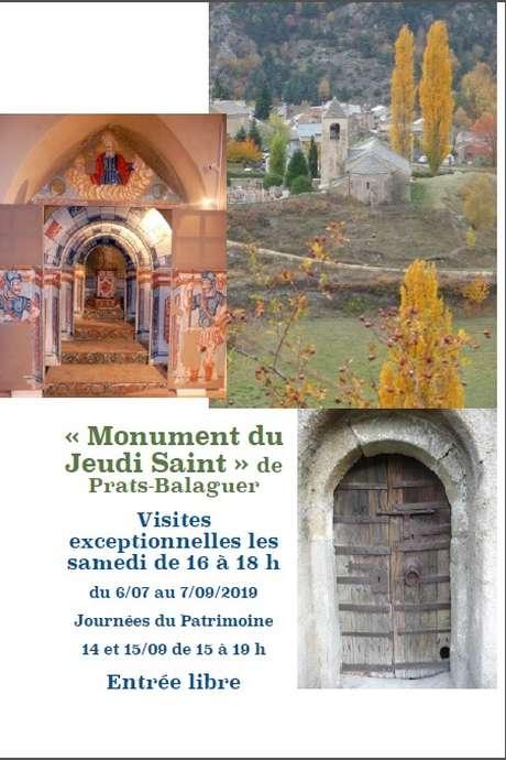 VISITE COMMENTÉE DE L'ÉGLISE DE PRATS-BALAGUER (FONTPÉDROUSE)